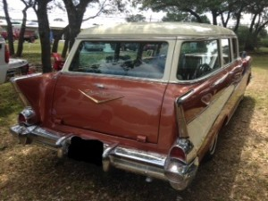 chevy 210 station wagon specifications
