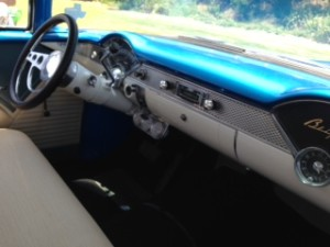1955 chevy bel air dashboard