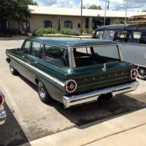 65 ford falcon station wagon