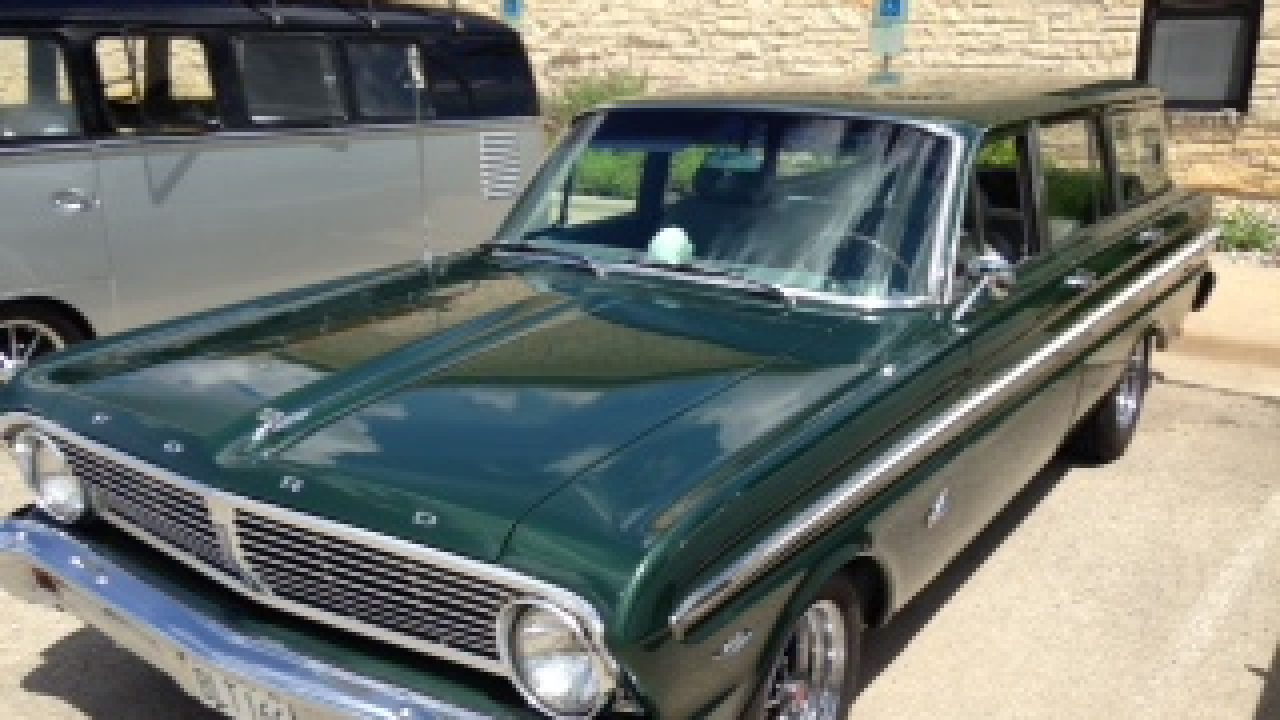 1965 Ford Falcon Station Wagon / All Model Details, Photos