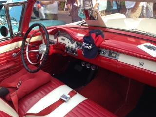 1957 ford fairlane dashboard