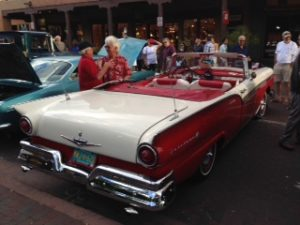 1957 ford fairlane specifications