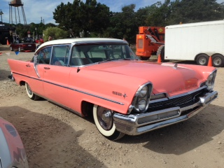 1957 lincoln premiere specifications