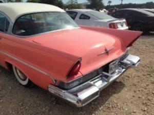 1957 llincoln premiere tail fins