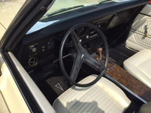 1969 firebird dashboard
